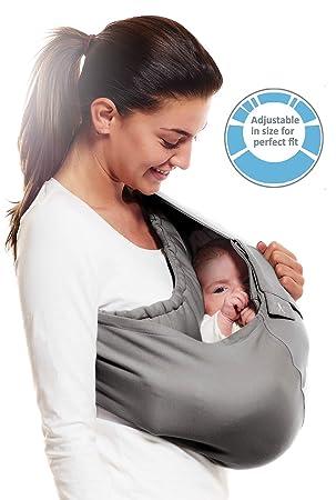 0e7d11e88cc Wallaboo - Porte bébé Connection - Ergonomique de la naissance à 36 mois -  Le porte