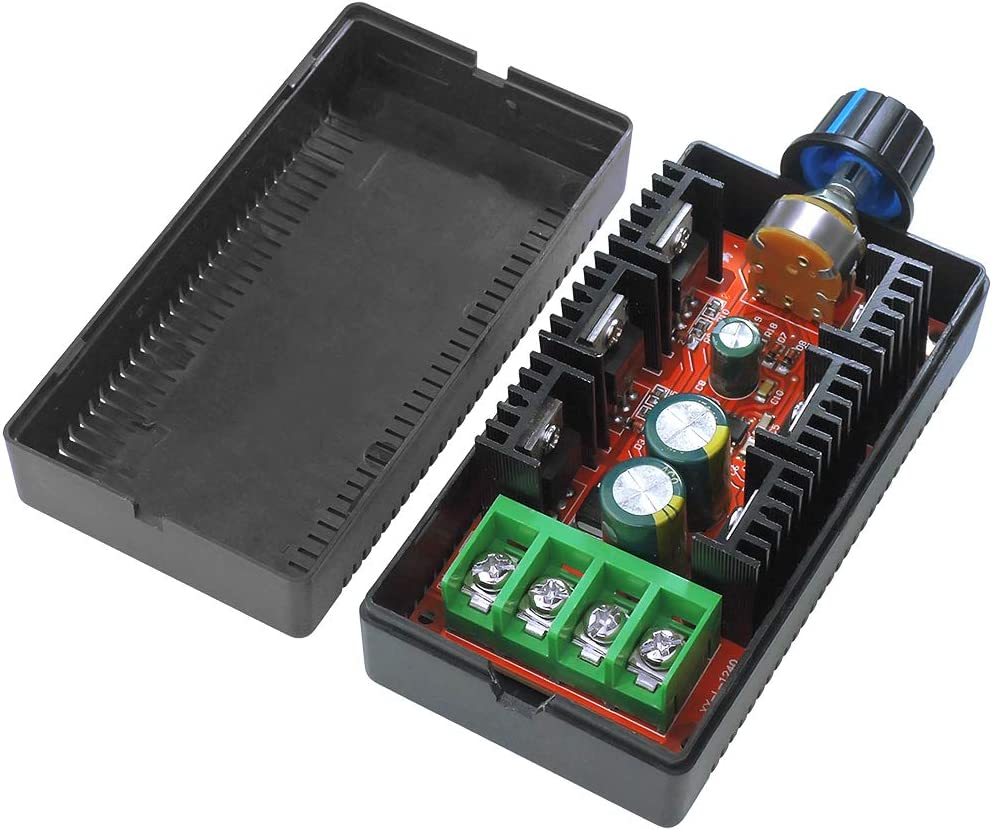 RETYLY 12V 24V 48V 2000W MAX 10-50V 40A Dc Control De Velocidad Del Motor PWM HHO RC Controlador