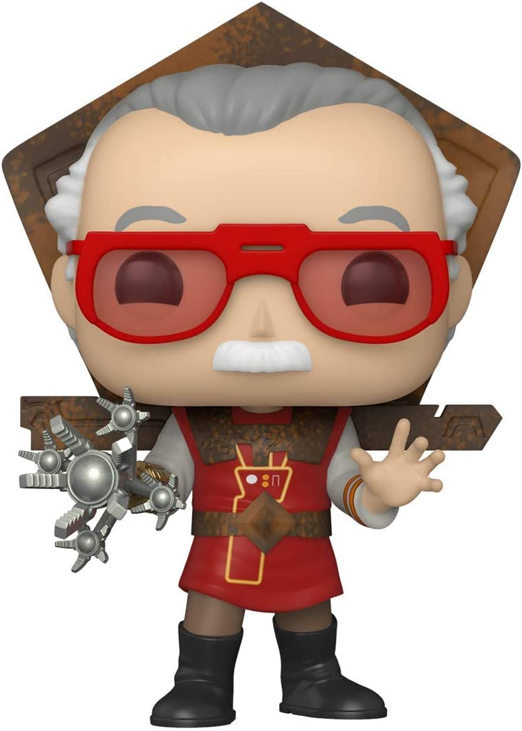 Funko Pop! Icons: Stan Lee - Stan Lee in Ragnarok Outfit, Multicolor