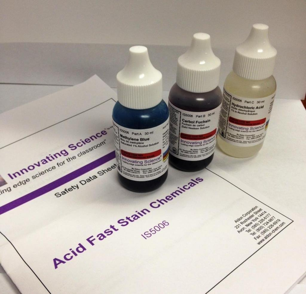 Innovating Science Acid Fast Stain Kit, 3pc
