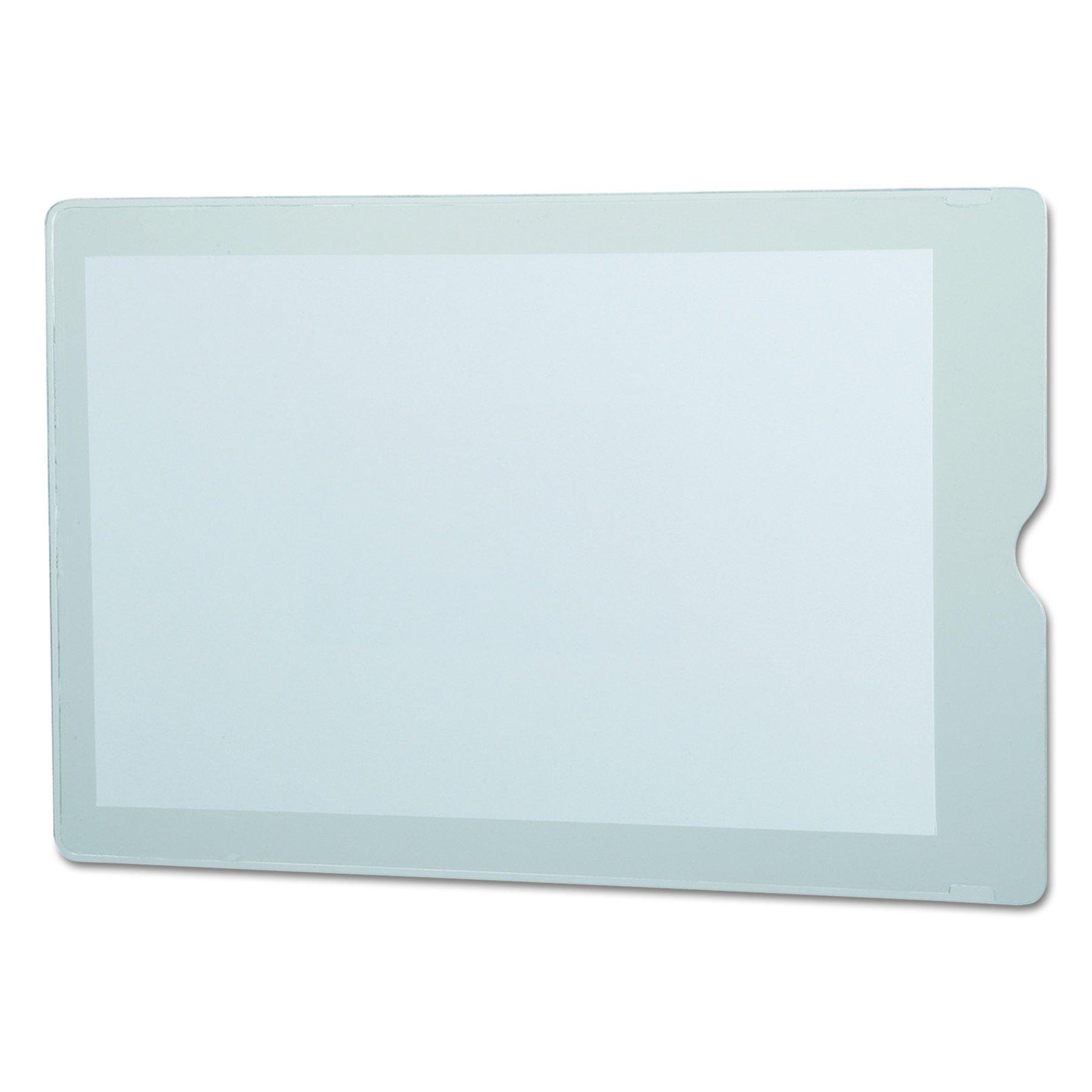 Oxford 65008 Utili-Jac Heavy-Duty Clear Plastic Envelopes, 5 x 8 (Box of 50)