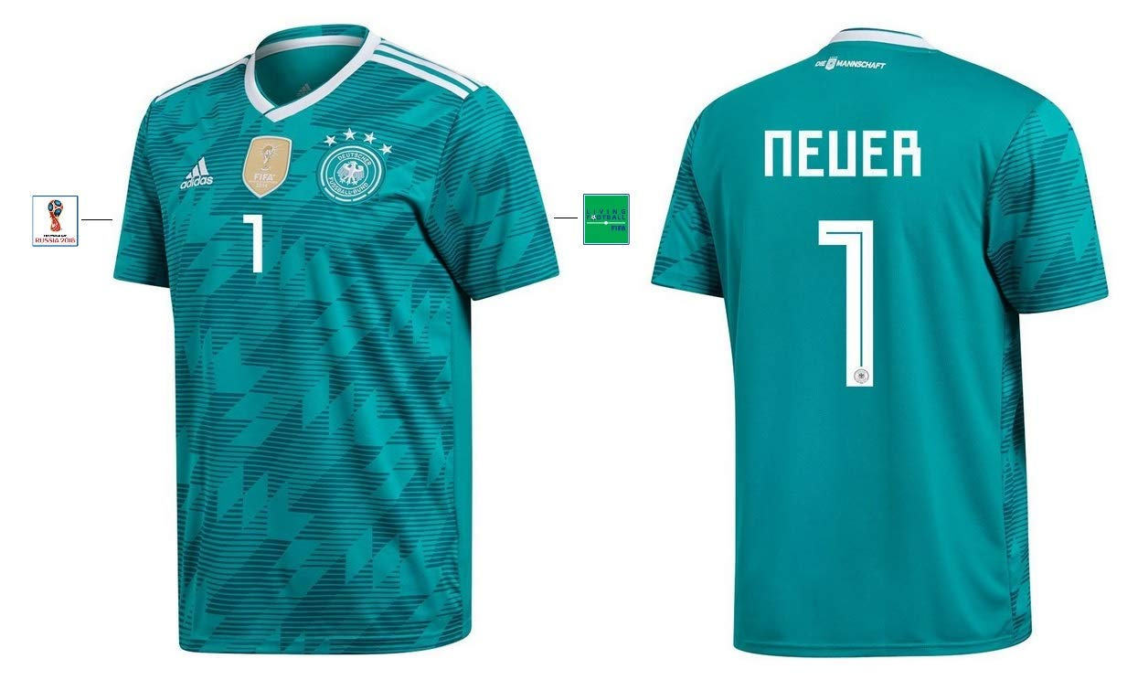 DFB Trikot Kinder WM 2018 Away 1