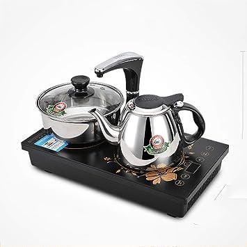 QFFL jingshuiji Bomba eléctrica Inteligente Bandeja de té Bombeo automático Estufa electromágnetica Mini Estufa electromagnética de té: Amazon.es: Hogar