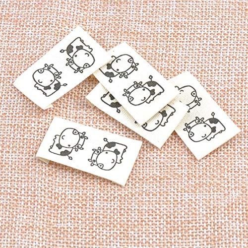 Label Sewing - 50pcs Stock Washable Cloth Woven Label Name Sew Folding Hanging Tag Garment Personalized 20x37mm Cp1528 - Gummed Tatter Chase Tail Trade Trail Sticker Dog Marque Rag