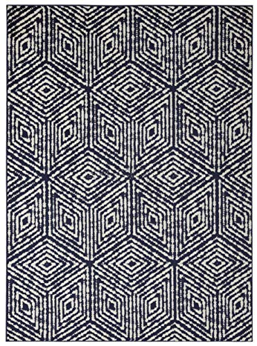 Diagona Geometric Cubes Area Rug, 63