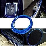 Automotive Accessories Exterior Best Deals - DARK BLUE 5M Flexible Trim For DIY Automobile Car Interior Exterior Moulding Trim Decorative Line Strip