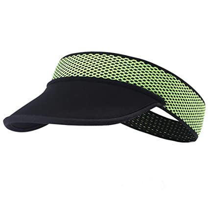 7773427d480 rnairni Muitifunction Sports Sun hat Headband Outdoor Running Cycling  Peaked Golf Cap Headwear Visor Hat Race Gear Breathable Moisture Wicking UV  Protection ...
