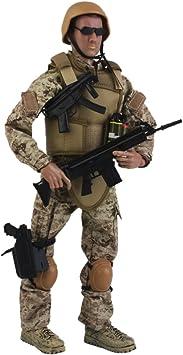 """1//6 SCALA Esercito Combattimento Deserto ACU SOLDATO FERITO 12/"""" Action Figure Giocattolo Modello"""