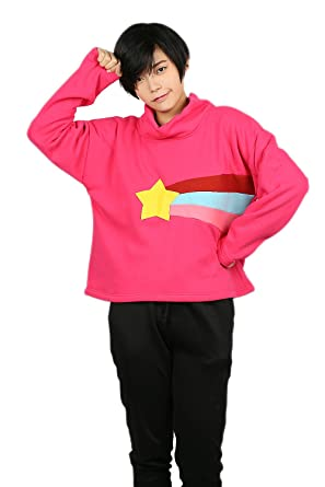 mabel pines cospaly hoodie sweatshirt pullover costume for halloween s