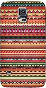 DailyObjects Bulgarian Rhapsody Pattern Case For Samsung Galaxy S5 Multicolored