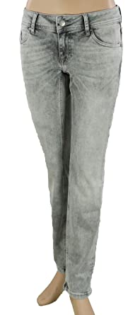 e19642095fb2 Mustang Gina Skinny Slim Fit Low Rise Damen Stretch Jeans  Amazon.de ...
