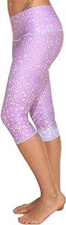 product image for teeki, Women's Capri, Mermaid Fairy Queen Lavender Pattern