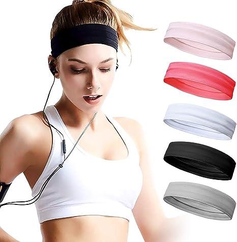 fitness studio laufen yoga schweiß stirnband strecken am sport haargummis