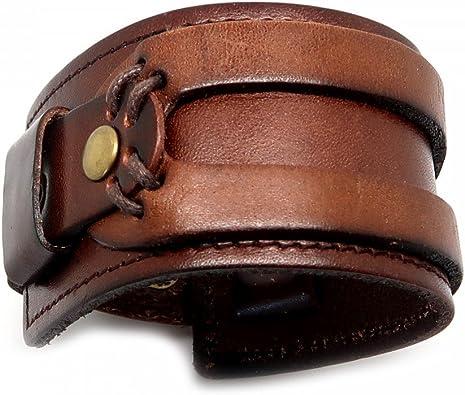 bracelet cuir homme force