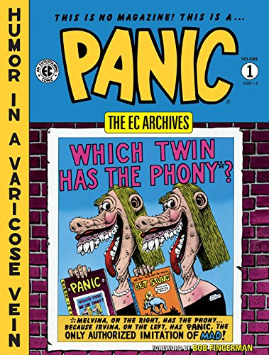 EC Archives: Panic Volume 1 (The EC Archives: Panic)]()