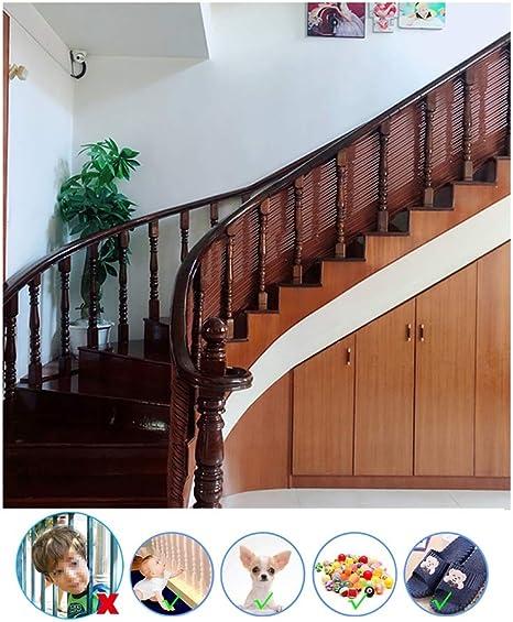HUANPIN Red de Seguridad para Balcones | Red de Protección para Escaleras Balcones Terrazas PuertasVentanas Bebé Mascota | Red de Seguridad Escaleras Malla de Niños,Mascotas: Amazon.es: Deportes y aire libre