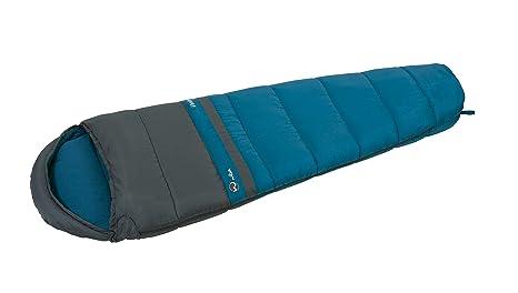 Wilsa Outdoor Saco de Dormir 14 ° Tipo Momia (225 x 75 cm Gris/