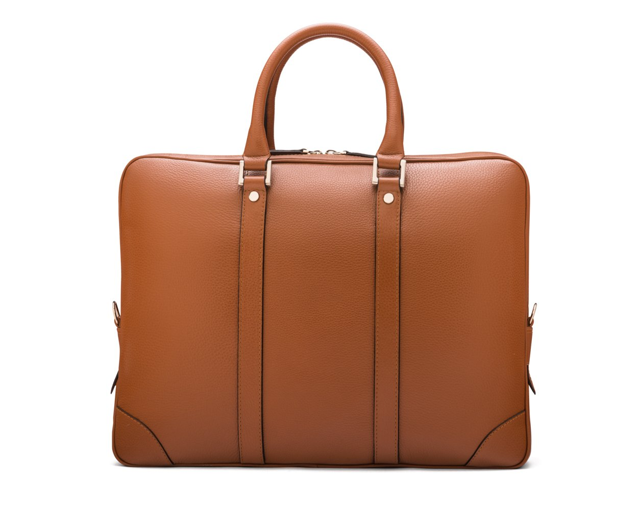 SAGEBROWN Tan Gainsborough Laptop Bag