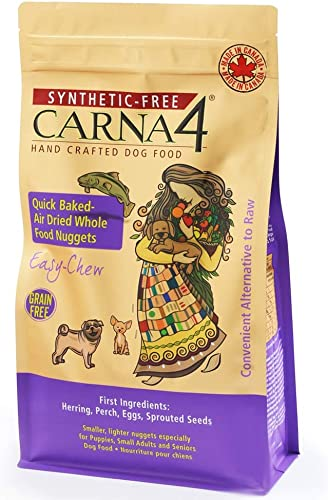 CARNA4 Easy-chew Fish Formula Sprouted Seeds Dog Food