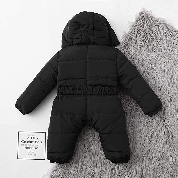 Amazon.com: Moonper Newborn Jumpsuit Coat Toddler Infant Baby Girls Boys Long Sleeve Hooded Romper Warm Thick Zipper Coat Outfit: Clothing