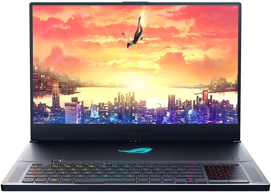 "ROG Zephyrus S GX701 (2019) Gaming Laptop, 17.3"" 240Hz 3ms FHD IPS, GeForce RTX 2080, Intel Core i7-9750H Processor, 16GB DDR4, 1TB PCIe SSD Hyper Drive, Windows 10 Pro, GX701GX-XH76"