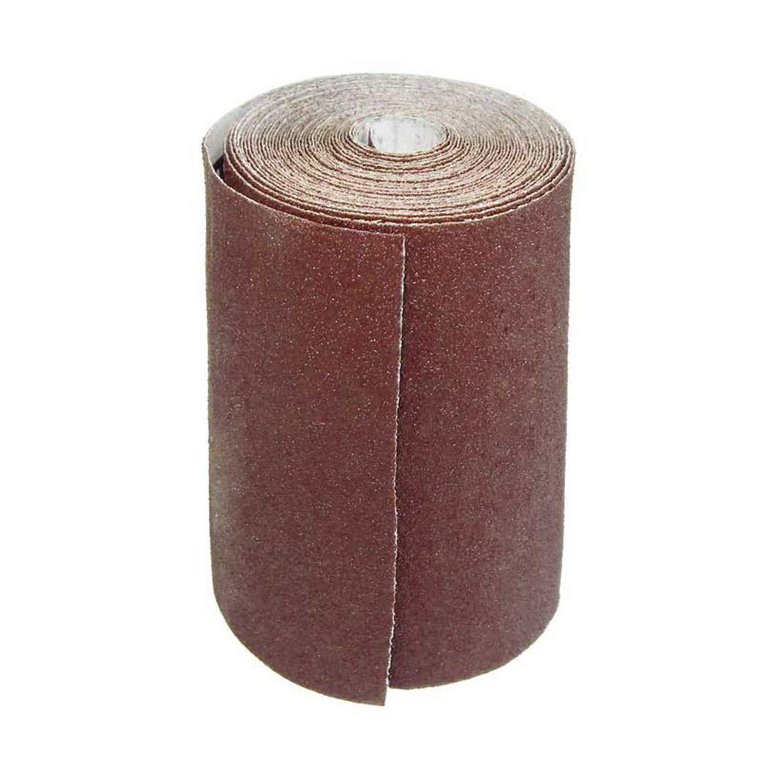 1 Rouleaux de papier de verre MioTools pour ponceuses manuelles - 93 mm x 5 m - grain 40