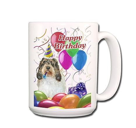 Amazon.com: Petit Basset Griffon Vendeen Feliz cumpleaños ...