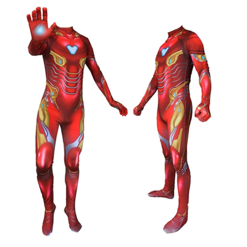 HYYSH Iron Man Heroes Expedition Juego de rol Cosplay Disfraz ...
