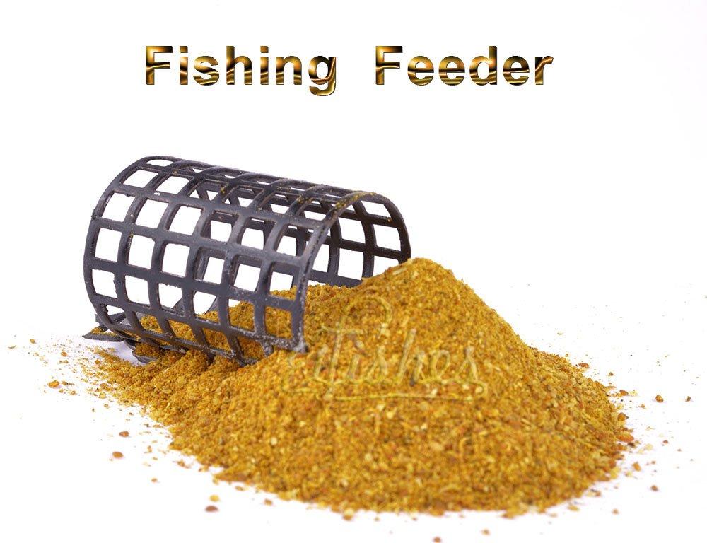 2pcs Carp Fishing Steel Basket Bait Feeder 30g 1oz Trap Lead Coarse Fishing Tackle