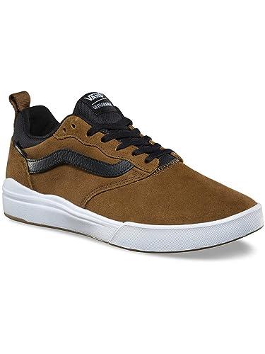 Pro Ultrarange Chaussures Teck Teak Vans Noir Skate Marron En De 35LR4jA