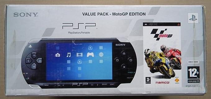 PSP PLAYSTATION PORTABLE VALUE PACK MOTOGP EDITION: Amazon.es: Videojuegos
