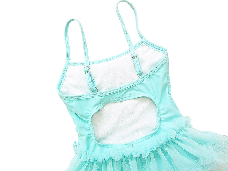Wennikids Little Girls Princess Lace Layer Swimsuit Tutu Dress One-Pieces Swimwear