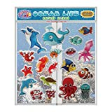JesPlay Ocean Life Thick Printed Gel Clings