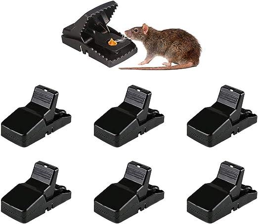 PILIN Trampa para ratones Trampas para ratas con control de plagas ...