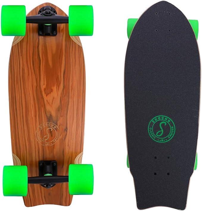 Carving,Schwarz The Original Maple 46-Zoll-Skateboard Cruiser f/ür Cruising CUTEY Longboard Skateboard Komplett-Kreuzer
