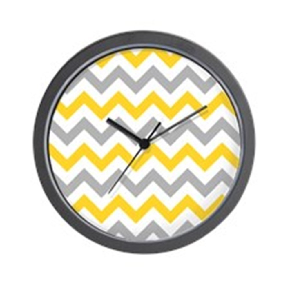 Amazon.com: CafePress - Yellow And Grey Chevron - Unique Decorative ...