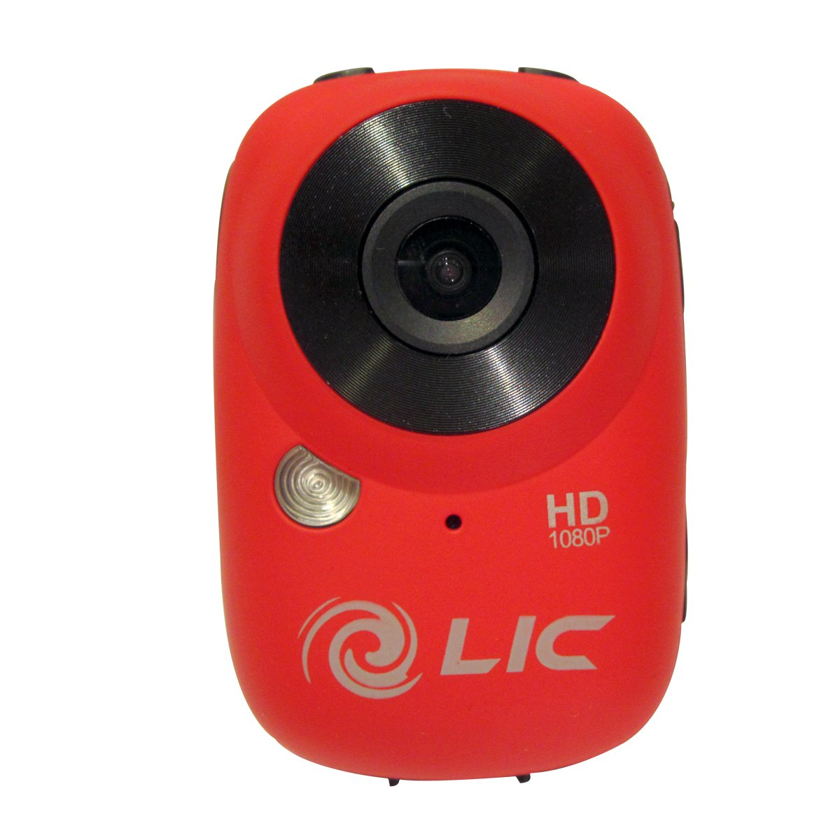 Liquid Image Ego Series 727R Mountable Sport Video Camera with WiFi (Red)