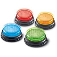 Learning Resources Bocinas con luces y sonidos, Set de 4 piezas