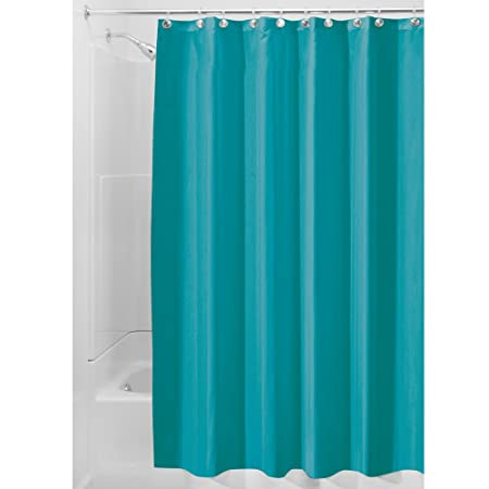Amazon InterDesign Fabric Shower Curtain Mold And Mildew Resistant Water Repellent Bath Liner For Master Bathroom Kids Guest