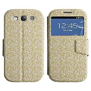 LEOCASE patrón de surtidos Funda Carcasa Cuero Tapa Case Para Samsung Galaxy S3 I9300 No.1002702