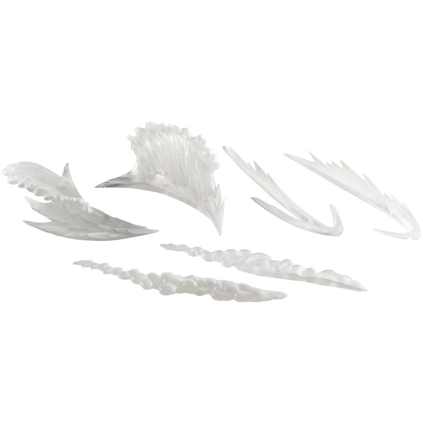 1 FREE Anime Themed Trading Card Bundle Bandai BCC948I82 Tamashii Nation Action Figure Effect Set Clear Wave Effect