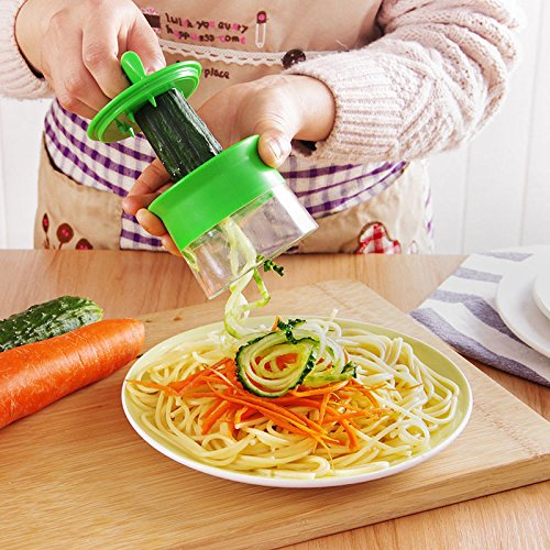 Rcool Fruta, verduras fruta del cortador cortadores espiral ...