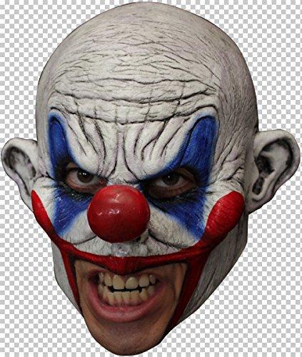 Mask Head Chin Strap Clown ()