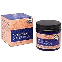 Motherlove Diaper Balm (1 oz.) Cloth Diaper Safe Herbal Ointment – Free of Zinc...
