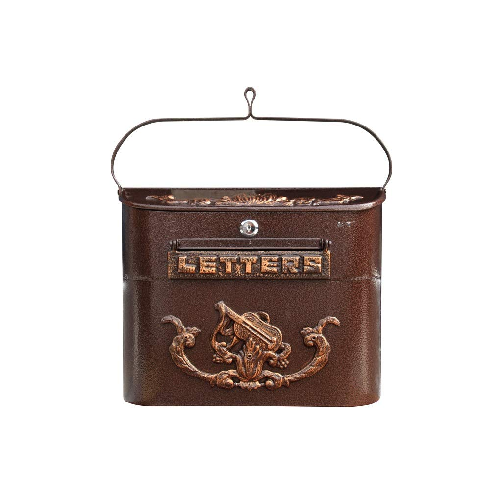 TLMY ヨーロッパのヴィラ郵便箱屋外防水レターボックスガーデンメールボックスメールボックスのメールボックス メールボックス   B07GJ77SCG