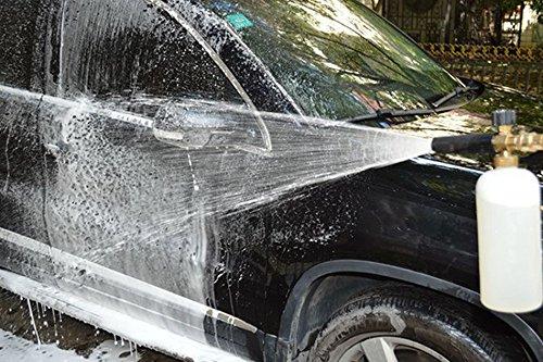 Snow Foam Lance Car Foam Gun Professional Adjustable Car Wash Foam Lance Generator Pressure Washer for Car Washing Cleaning Tools Washer 1L