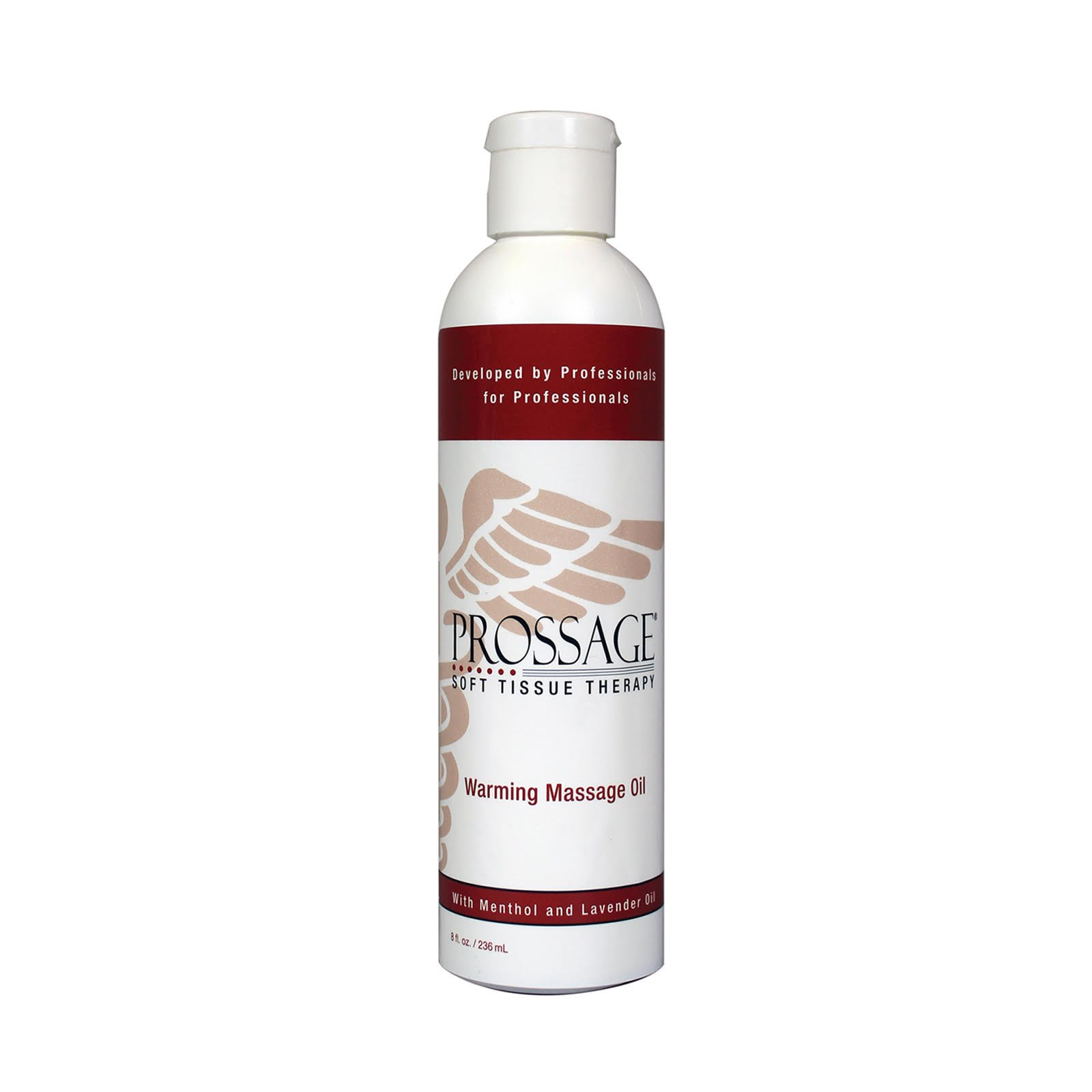 Prossage Heat Warming Relief Massage Oil for Therapuetic Massages, Deep  Tissue Massages, and.
