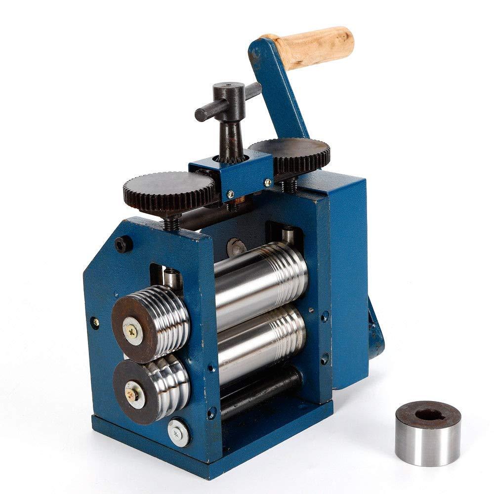 Manual Combination Rolling Mill Machine Roller Metal Steel Jewelry Tabletting by Xianxus