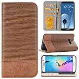6.3 inch Samsung Galaxy Note 8 Case, Wallet Phone Case,Flip PU Leather Phone Case and Cover,Sammid Wallet Smart Case with Card Slot for Samsung Galaxy Note 8 - Light Brown