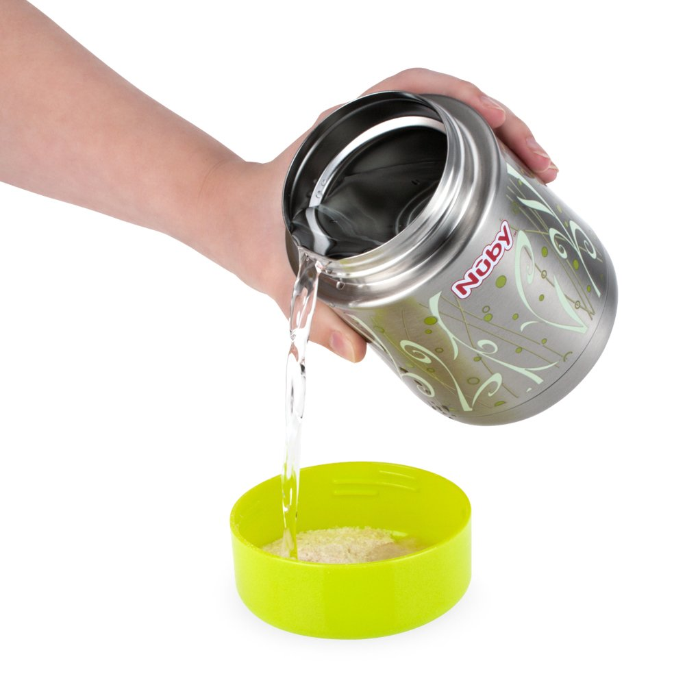 Nuby Stainless Steel Thermos, Colors May Vary by Nuby (Image #4)
